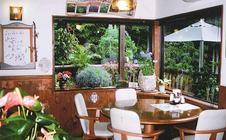 自然に囲まれた店内で、四季折々の景色を楽しみながらお食事ができます。