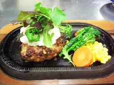 佐賀牛のハンバーグ和風ソース