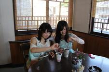 アイスコーヒー ¥300<br />5~9月頃は、アイスコーヒーもご用意しています。<br />散策で疲れた足を休めて、冷たくて美味しいコーヒーでリフレッシュしてみては?