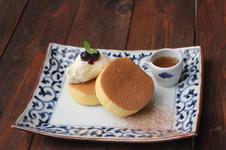 イルハ(ILHA)のパンケーキセット(コーヒー付)