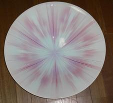 紅染大鉢「燦々」 伝統工芸展入選作品