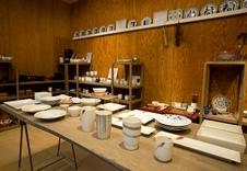 ギャラリーでは、福珠窯の新作や、ここだけでしか売られていない限定商品など最新トレンドを展示しています。