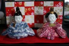 雛人形なども販売しています。