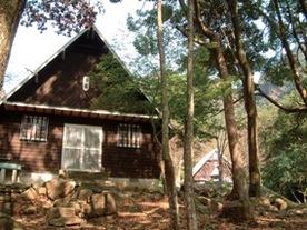 竜門峡キャンプ場 山の家