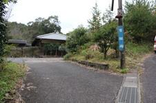 山道を登っていくと『青望庵』の看板が出てきます。