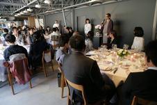 年に数回、カフェスペースを使って、有名シェフや、料理研究家をお呼びし、イベントを開催してます。