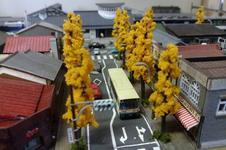 店内には、有田町を再現したジオラマにNゲージが走っています!<br />ななつ星など、色々な種類の列車があります。