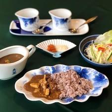 有田鶏カレーセット 1,200円(税込)