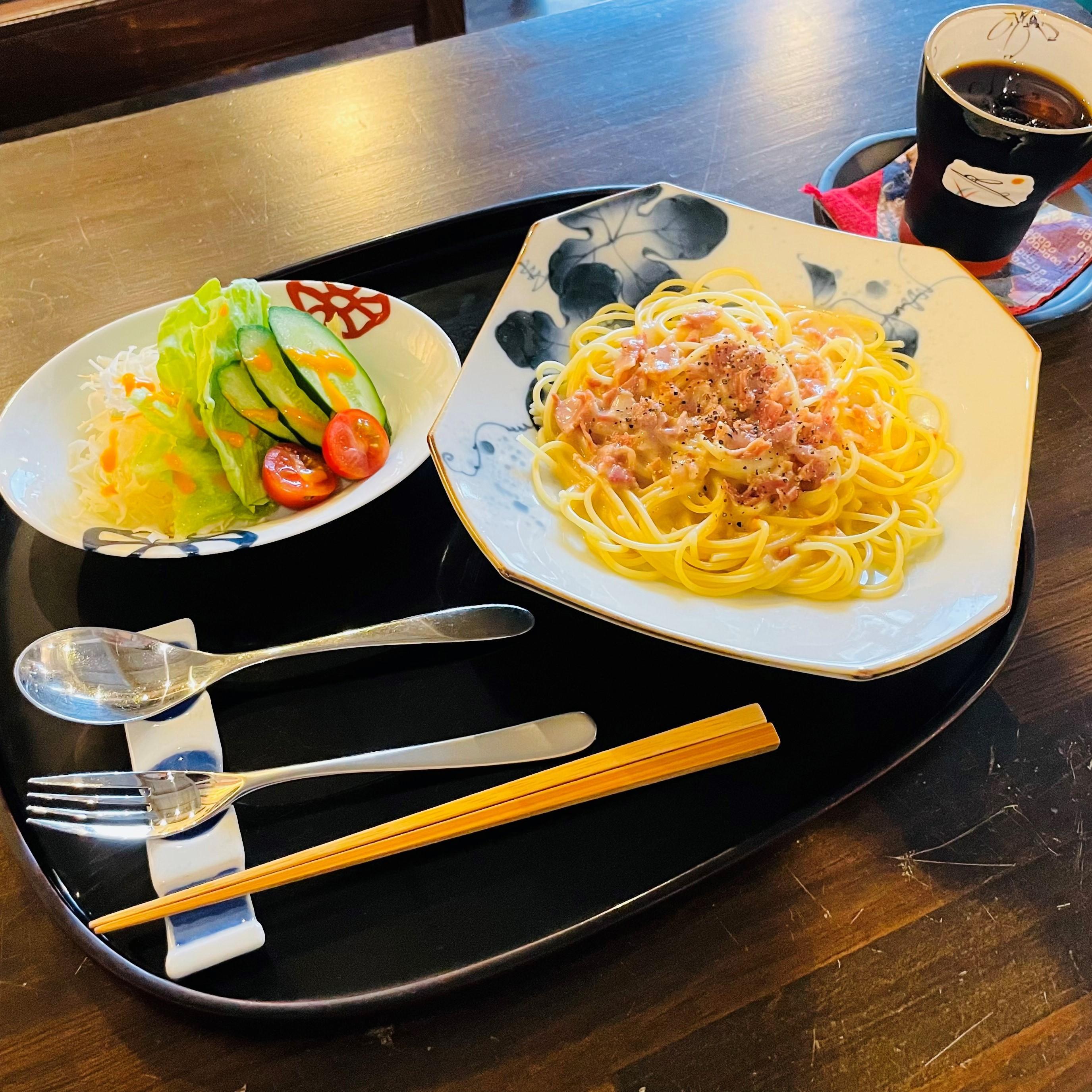 パスタ(豆乳クリーム) 1,000円<br />コーヒーor 紅茶付き