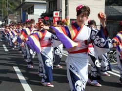 皿踊りパレード.JPGのサムネイル画像