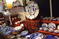 1階の古陶磁の器たち。