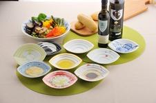 可愛らしいオリーブオイルのお皿、「OLIVITA]