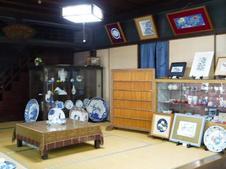 大正期の町家の歴史が感じられる店内。