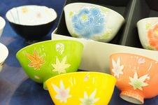 オリジナル「楽々」茶碗