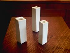 面取り花器<br  />大 (高20cm×横5cm×横5cm)<br />  小 (高16cm×横4cm×横4cm)