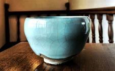 青瓷茶盌 青木 清高 作
