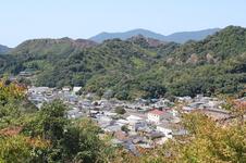 李参平の碑からの眺望