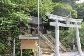 山田神社 (唐船城跡)
